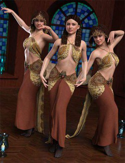 IM Belly Dance Pose Collection for Genesis 8 Female