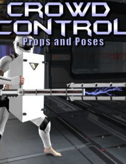 Crowd Control (Poses and Props for V4)