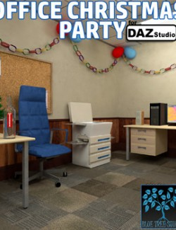 Office Christmas Party for Daz Studio