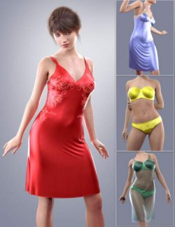dForce COG Gown for Genesis 8 Females