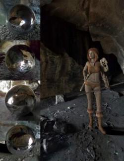 Orestes Iray HDRI Environments- Cave Shelter