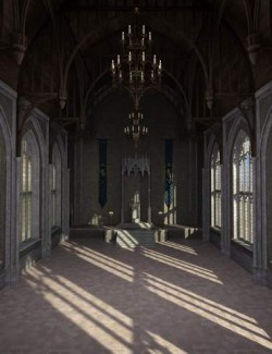 Gothic Throne Room