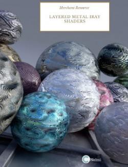 Layered Metal Iray Shaders