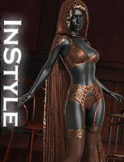 InStyle - dforce Desert heart clothing for G8F