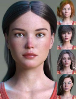 Natural Women and Morphs Addons for Genesis 8 Female
