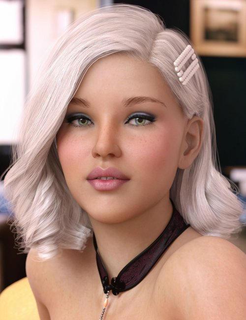 Eilis Hair for Genesis 3 & 8 Females