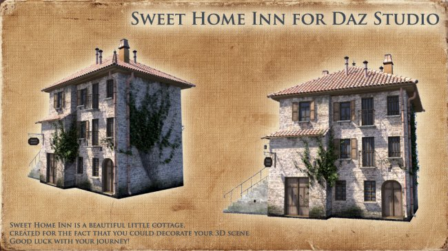 Sweet Home Inn for Daz Studio