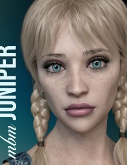 MbM Juniper for Genesis 3 & 8 Female