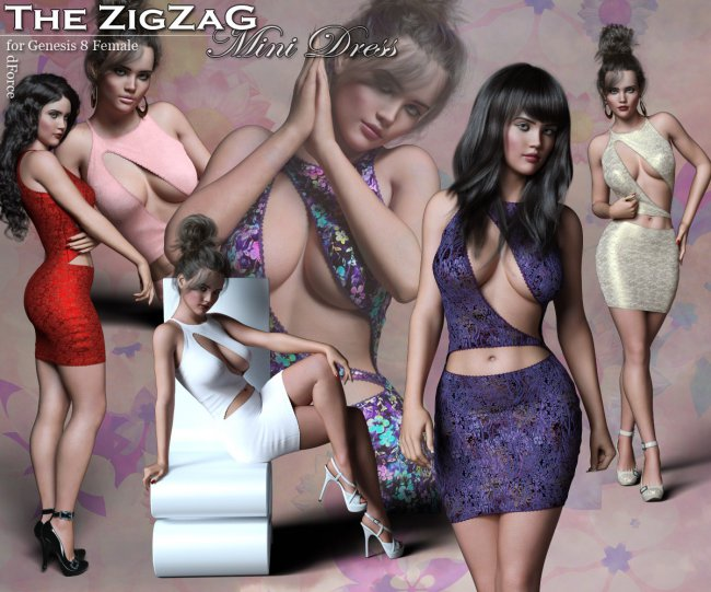 The ZigZag for Genesis 8 Females
