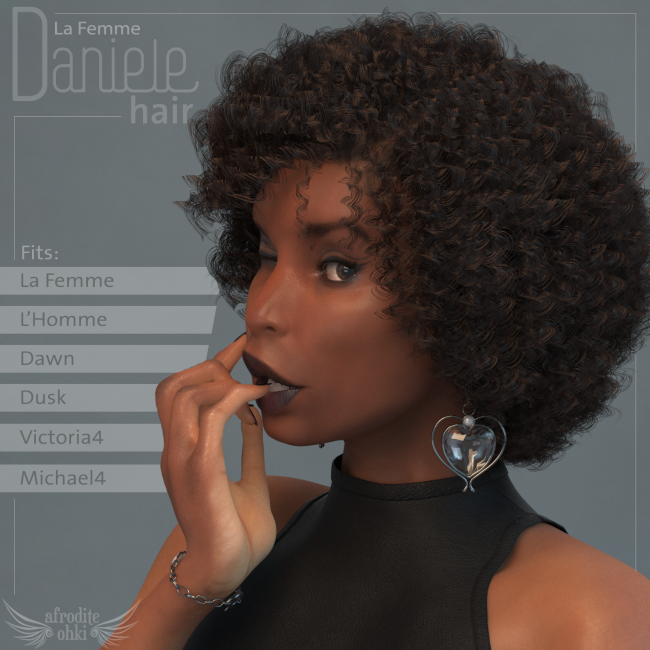 Daniele Hair for La Femme and more