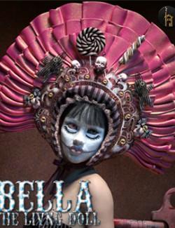 BELLA The Living Doll Bonnet
