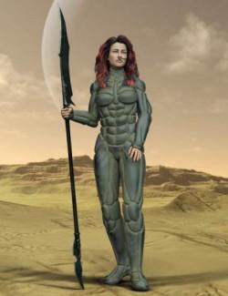 Desert Suit for Genesis 8 Females