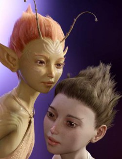Orla Fae dForce Hair for Genesis 8 Female