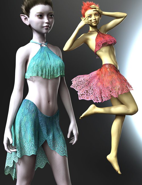 Orla Fae dForce Outfit for Genesis 8 Females