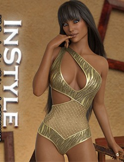 InStyle - JMR dForce Lucy Cutout Nightwear for G8F