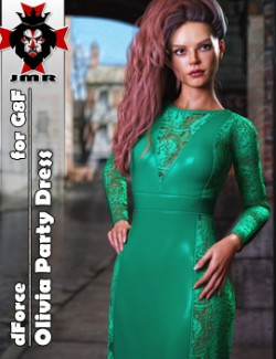 JMR dForce Olivia Party Dress for G8F