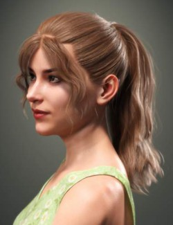 SP Hair 014 for Genesis 3 and 8 Female