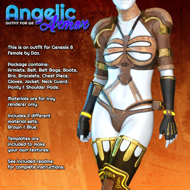 Exnem Angelic Armor for G8 Female