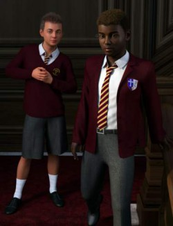 dForce Time For School for Genesis 8 Males