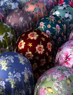 Wildflower Silk Fabric Iray Shaders