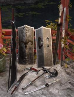 Hidden Warrior Weapons Collection