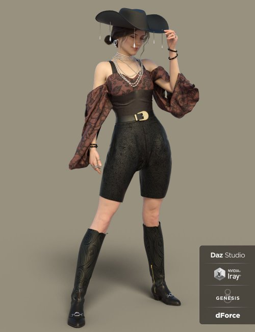 dForce NOSH Outfit for Genesis 8 Females