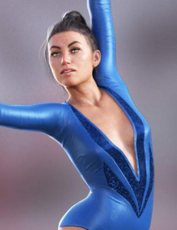 Gymnastic Animations for Genesis 8