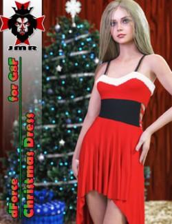 JMR dForce Christmas Dress for G8F