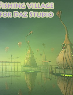 Fishing village for Daz Studio