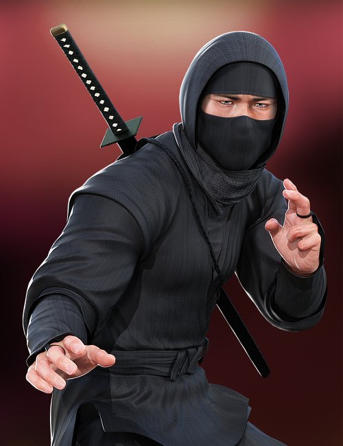 Ninja Animations for Genesis 8