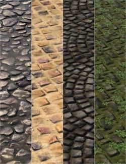 v176 Iray Cobblestone Textures
