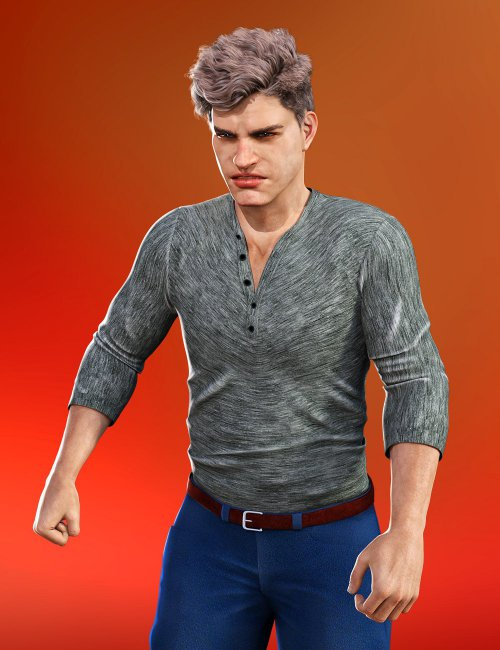 Reactions 2 Animations for Genesis 8