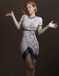 Only Dress for Genesis 8 Female