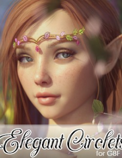 Elegant Circlets for Genesis 8 Female