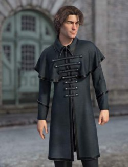 dForce Sophisticoat Outfit for Genesis 8 Males