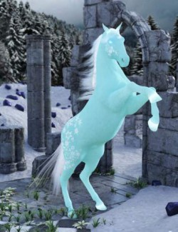 Flor De Hielo for DAZ Horse 2
