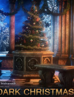 Dark Christmas 2 - 2D Backgrounds