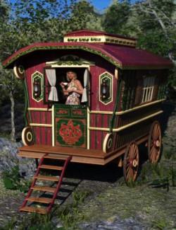 Ornate Wagon
