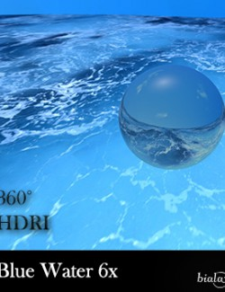 Blue Water 360 Environment - HDRI