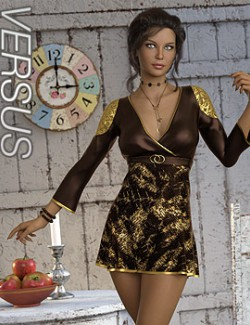 VERSUS- dForce Sylvia Outfit for Genesis 8 Females