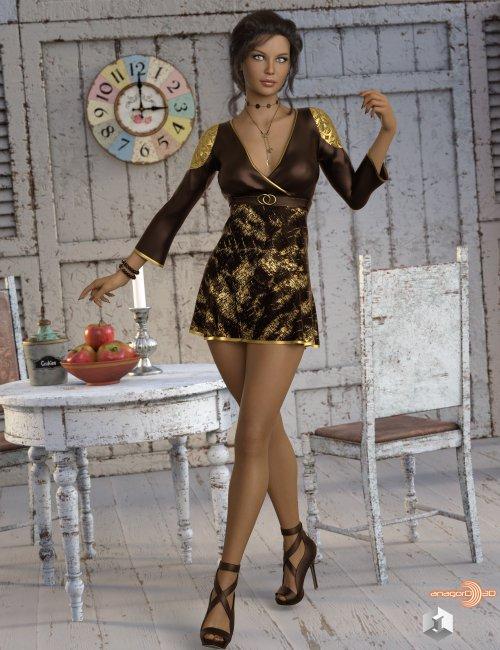 VERSUS - dForce Sylvia Outfit for Genesis 8 Females