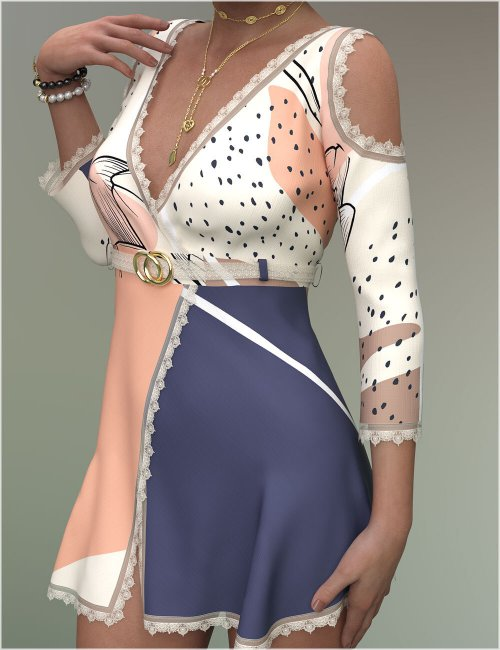 Stylish for dForce Sylvia Outfit