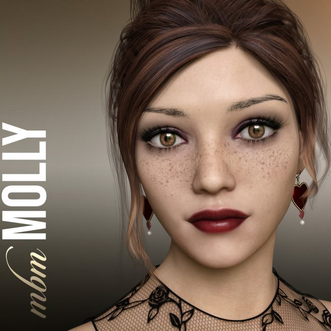 MbM Molly for Genesis 3 & 8 Female