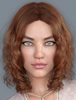 Drea Hair for Genesis 8 Females