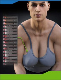Breast Control for Genesis 3 and 8 Males