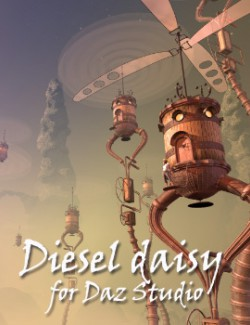 Diesel daisy for Daz Studio
