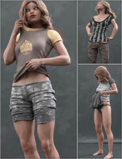 Everyday 2 Daily Poses and Clothes Vol.1 for Genesis 8 Female(s)