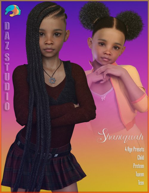 Shaniquah for Genesis 3 and 8 Female
