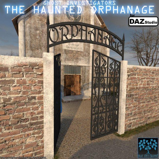 The Haunted Orphanage for Daz Studio