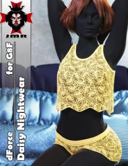 JMR dForce Daisy Nightwear for G8F